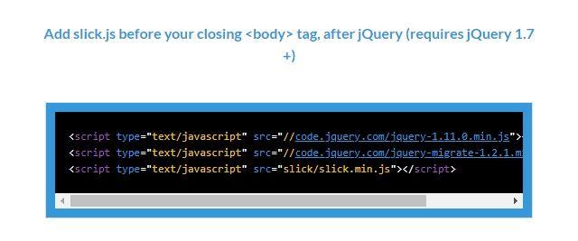 jQuery「slick」プラグインを使う | JOBTECH JP